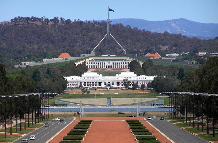 capital da australia , Camberra