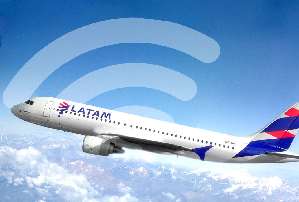 wifi na LATAM, voos para Austrália